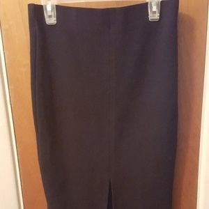 Zara Pencil Skirt with front slit Size Small